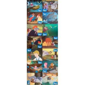 BERNARD ET BIANCA Photos de film x14 - 21x30 cm. - 1977 - Eva Gabor, Walt Disney