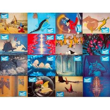 FANTASIA Photos de film x16 - 21x30 cm. - R1990 - Deems Taylor, Walt Disney