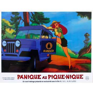 ROGER RABBIT - PANIQUE AU PIQUE-NIQUE Photo de film N02 - 21x30 cm. - 1993 - Kathleen Turner, Barry Cook