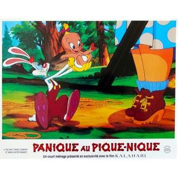 ROGER RABBIT - PANIQUE AU PIQUE-NIQUE Photo de film N01 - 21x30 cm. - 1993 - Kathleen Turner, Barry Cook