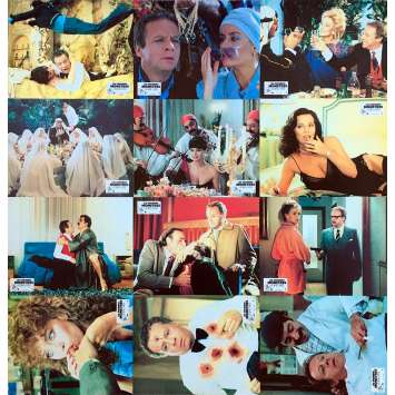 SESSO E VOLENTIERI Original Lobby Cards x12 - 9x12 in. - 1982 - Dino Risi, Laura Antonelli, Gloria Guida