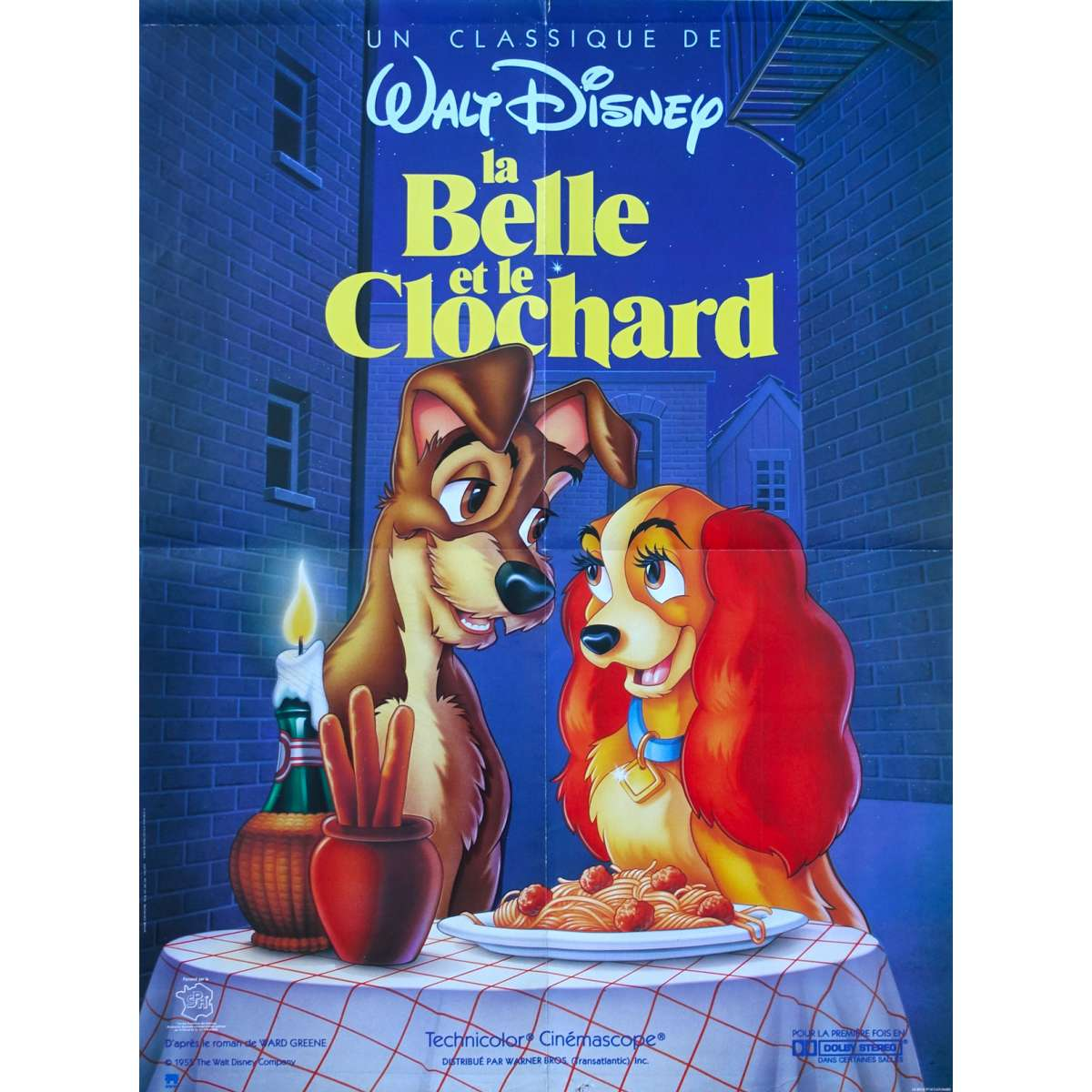 Lady And The Tramp Movie Poster 23x32 In