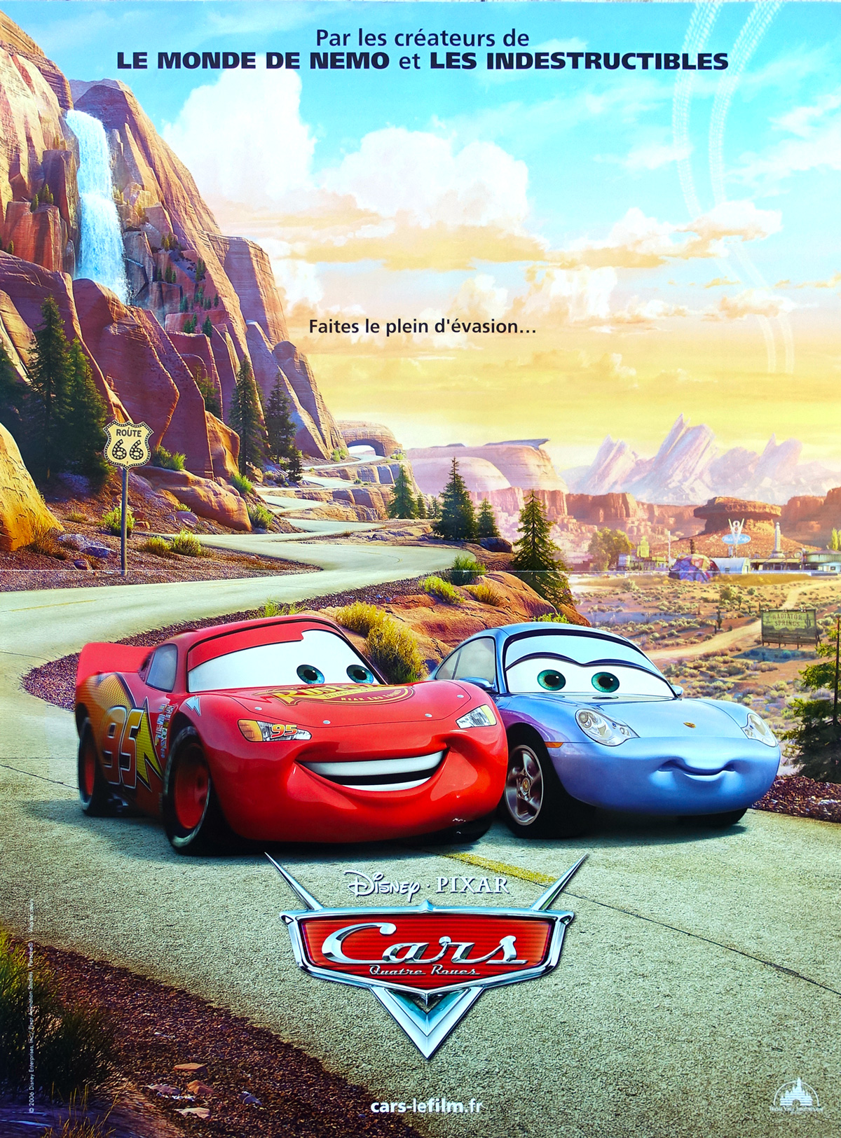 Cars Movie Poster 15x21 In