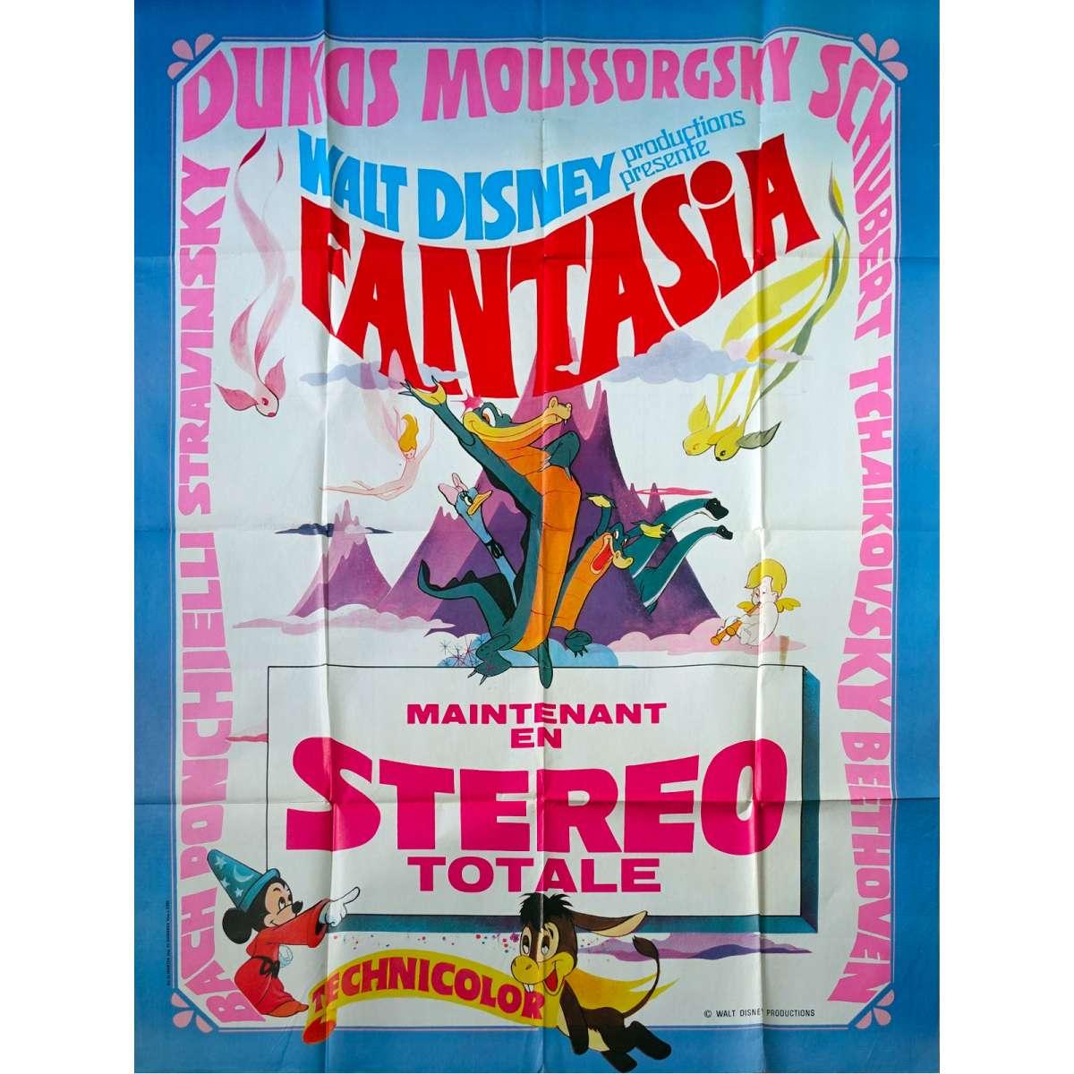 Fantasia Movie Poster 47x63 In