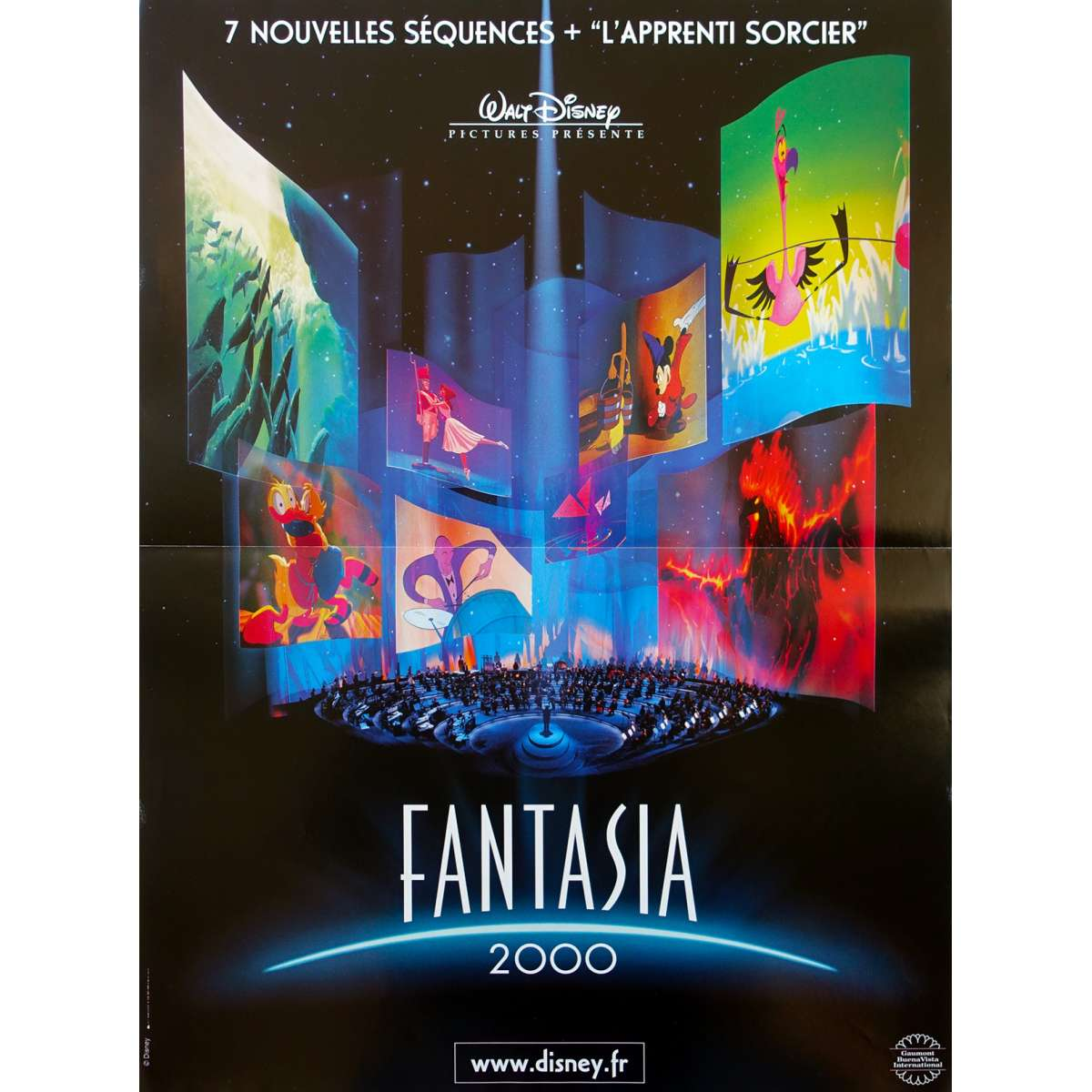 Fantasia 2000 Movie Poster 15x21 In