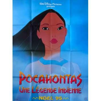 POCAHONTAS Affiche de film Prev. - 120x160 cm. - 1995 - el Gibson, Linda Hunt, Walt Disney