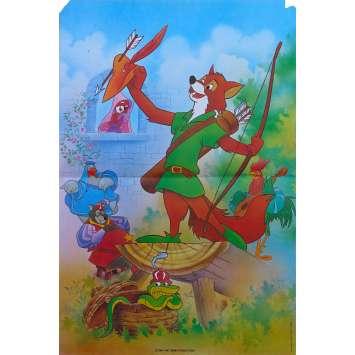 ROBIN DES BOIS Disney Affiche de film - 40x60 cm. - R1980 - Brian Beford, Walt Disney