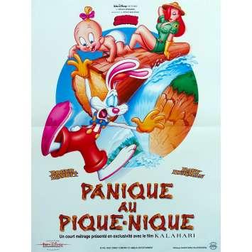 ROGER RABBIT - PANIQUE AU PIQUE-NIQUE Affiche de film - 40x60 cm. - 1993 - Kathleen Turner, Barry Cook