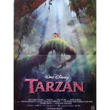 TARZAN Original Movie Poster - 15x21 in. - 1999 - Walt Disney, Minnie Driver