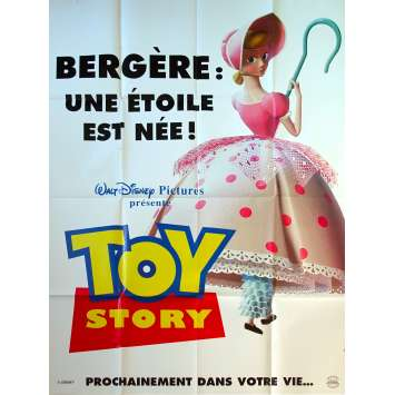 TOY STORY Affiche de film Prev - Bergère - 120x160 cm. - 1995 - Tom Hanks, Pixar