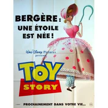 TOY STORY Original Movie Poster Adv. Bo Peep - 47x63 in. - 1995 - Pixar, Tom Hanks