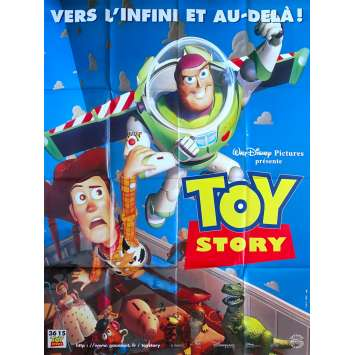 TOY STORY Affiche de film - 120x160 cm. - 1995 - Tom Hanks, Pixar