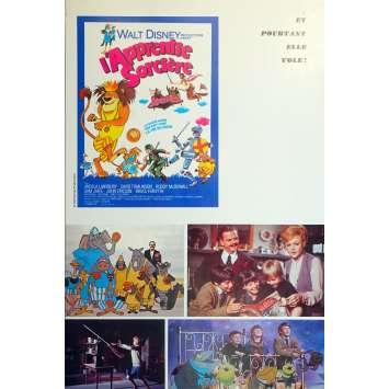 L'APPRENTIE SORCIERE Synopsis - 18x24 cm. - 1971 - Angela Lansbury, Robert Stevenson
