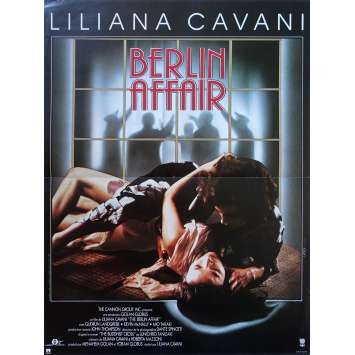 BERLIN AFFAIR Original Movie Poster - 15x21 in. - 1985 - Liliana Cavani, Gudrun Landgrebe