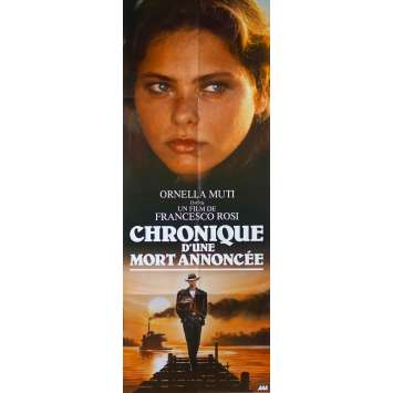 CHRONICLE OF A DEATH FORETOLD Original Movie Poster - 23x63 in. - 1987 - Francesco Rosi, Ornella Muti
