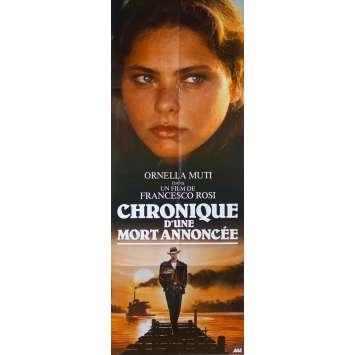 CHRONIQUE D'UNE MORT ANNONCEE Affiche de film - 60x160 cm. - 1987 - Ornella Muti, Francesco Rosi