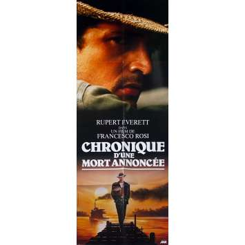 CHRONICLE OF A DEATH FORETOLD Original Movie Poster - 23x63 in. - 1987 - Francesco Rosi, Rupert Everett