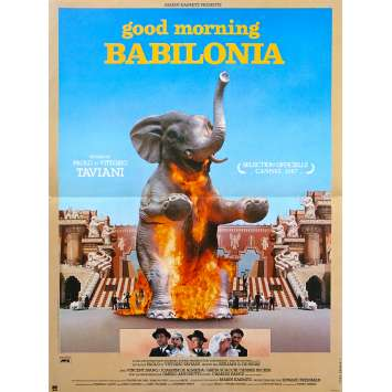 GOOD MORNING BABYLONIA Affiche de film - 40x60 cm. - 1987 - Vincent Spano, Paolo Taviani