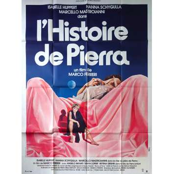THE STORY OF PIERA Original Movie Poster - 47x63 in. - 1983 - Marco Ferreri, Marcello Mastroianni