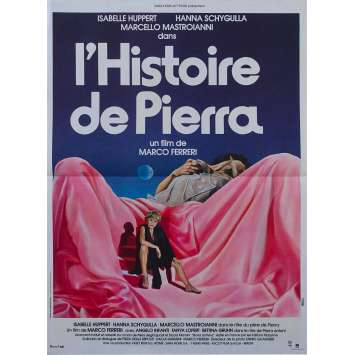 THE STORY OF PIERA Original Movie Poster - 15x21 in. - 1983 - Marco Ferreri, Marcello Mastroianni
