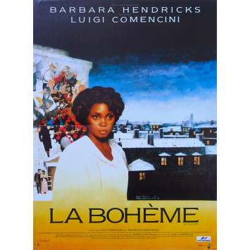 LA BOHEME Original Movie Poster - 15x21 in. - 1988 - Luigi Comencini, Barbara Hendricks