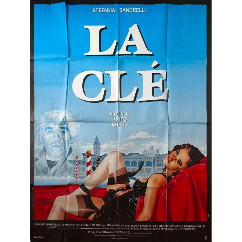 LA CLE Affiche de film - 120x160 cm. - 1983 - Stefania Sandrelli, Tinto Brass