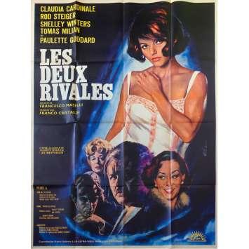 LES DEUX RIVALES Affiche de film - 120x160 cm. - 1964 - Claudia Cardinale, Francesco Maselli