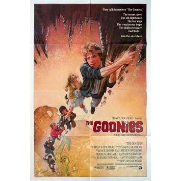 LES GOONIES Affiche de film Intl. 69x104 - 1985 - Sean Astin, Richard Donner