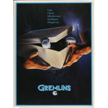 GREMLINS US Presskit with 8 Photos 8x10 - 1984 - Joe Dante, Zach Galligan