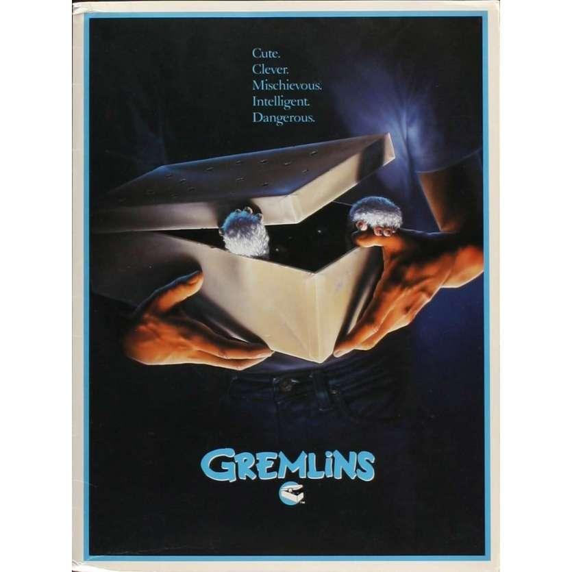 GREMLINS Presskit avec 8 photos 20x25 - 1984 - Zach Galligan, Joe Dante