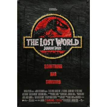 JURASSIC PARK 2 US Movie Poster 29x41 - 1996 - Steven Spielberg, Sam Neil