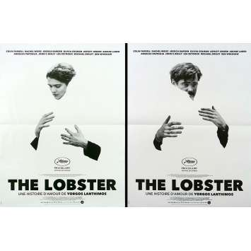 THE LOBSTER Original Movie Poster lot - 15x21 in. - 2015 - Yorgos Lanthimos, Colin Farrell, Rachel Weisz