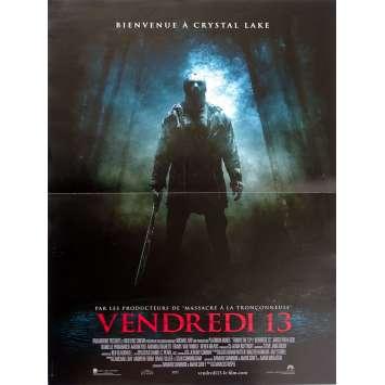 FRIDAY THE 13TH R Original Movie Poster - 15x21 in. - 2009 - Marcus Nispel, Jared Padalecki