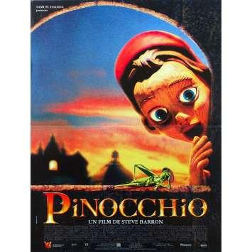 THE ADVENTURES OF PINOCCHIO Original Movie Poster - 15x21 in. - 1996 - Steve Barron, Martin Landau
