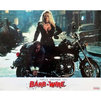 BARB WIRE Original Lobby Card - 9x12 in. - 1996 - David Hogan, Pamela Anderson