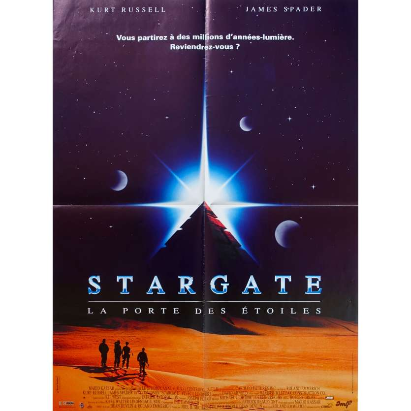 STARGATE Original Movie Poster - 23x32 in. - 1994 - Roland Emmerich, Kurt Russell