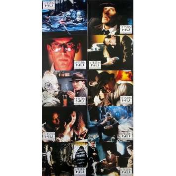 NAKED LUNCH Original Lobby Cards w10 - 9x12 in. - 1991 - david Cronenberg, Peter Weller