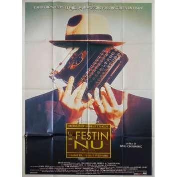 NAKED LUNCH Original Movie Poster - 47x63 in. - 1991 - david Cronenberg, Peter Weller