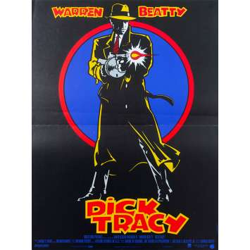 DICK TRACY Original Movie Poster - 15x21 in. - 1990 - Warren Beatty, Al Pacino