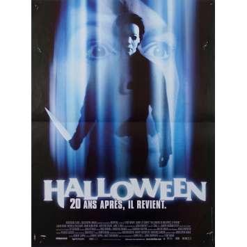 HALLOWEEN H20: 20 YEARS LATER Original Movie Poster - 15x21 in. - 1998 - Steve Miner, Jamie Lee Curtis