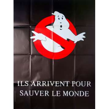 GHOSTBUSTERS Original Movie Poster Adv. - 47x63 in. - 1984 - Ivan Reitman, Bill Murray, Dan Aykroyd