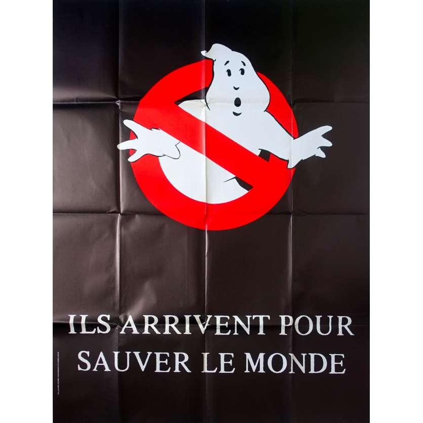GHOSTBUSTERS Affiche de film Prev. - 120x160 cm. - 1984 - Bill Murray, Dan Aykroyd, Ivan Reitman