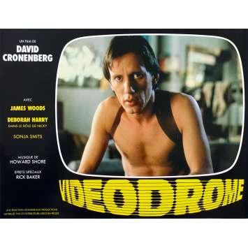 VIDEODROME Original Lobby Card N03 - 9x12 in. - 1983 - David Cronenberg, James Woods