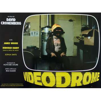 VIDEODROME Original Lobby Card N04 - 9x12 in. - 1983 - David Cronenberg, James Woods