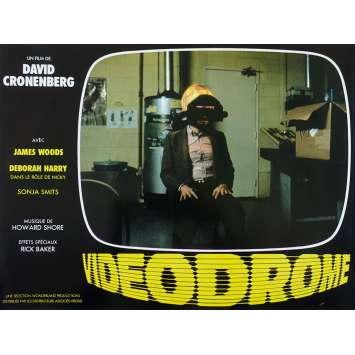 VIDEODROME Photo de film N04 - 21x30 cm. - 1983 - James Woods, David Cronenberg