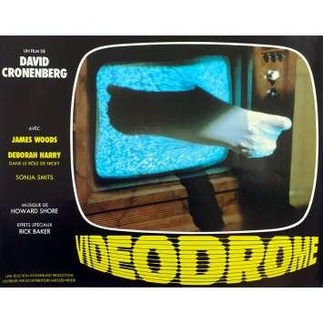 VIDEODROME Original Lobby Card N05 - 9x12 in. - 1983 - David Cronenberg, James Woods