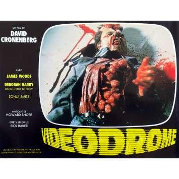VIDEODROME Original Lobby Card N06 - 9x12 in. - 1983 - David Cronenberg, James Woods