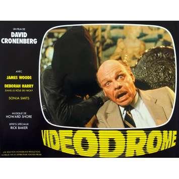 VIDEODROME Original Lobby Card N07 - 9x12 in. - 1983 - David Cronenberg, James Woods