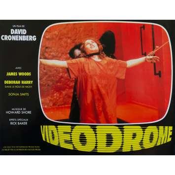VIDEODROME Original Lobby Card N08 - 9x12 in. - 1983 - David Cronenberg, James Woods