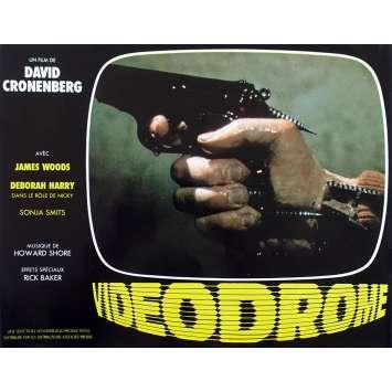 VIDEODROME Original Lobby Card N09 - 9x12 in. - 1983 - David Cronenberg, James Woods